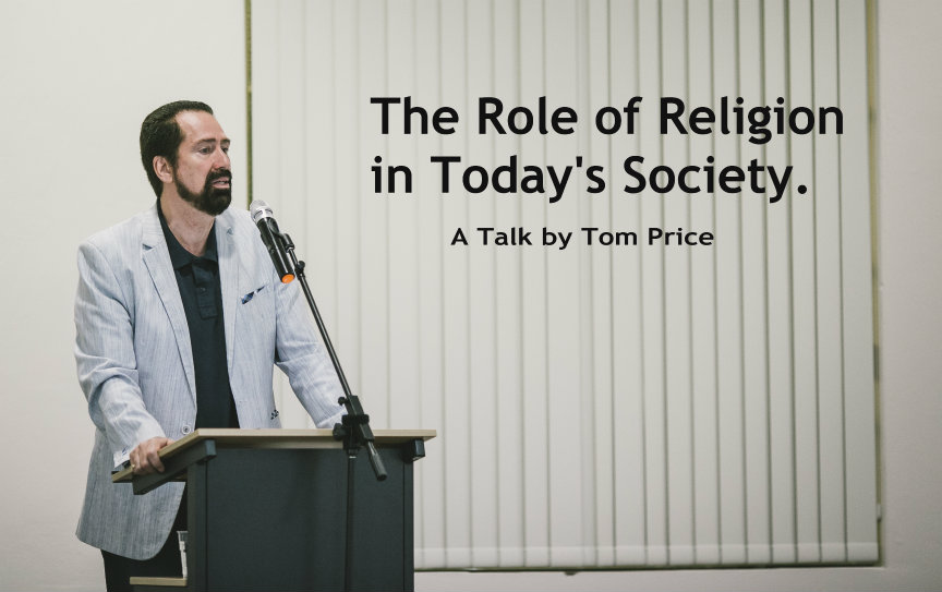 Tom Price-Role of Religion in Today's Society 864x543