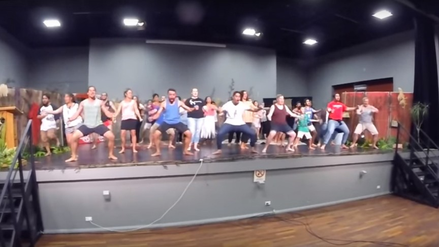 NZ Summer School Haka