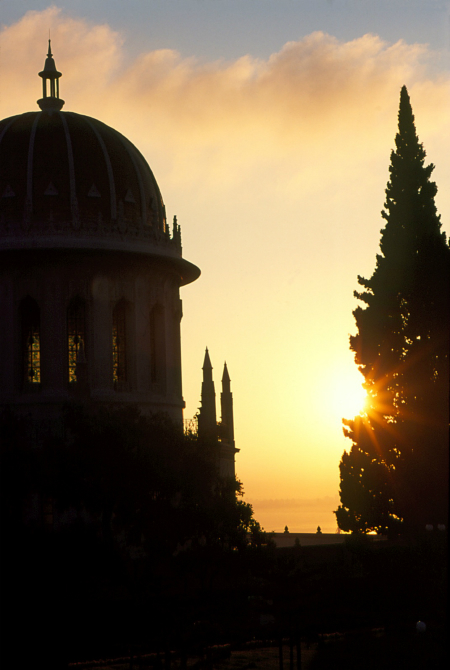The Shrine of the Bab (photo credit: Baha'i World Centre)