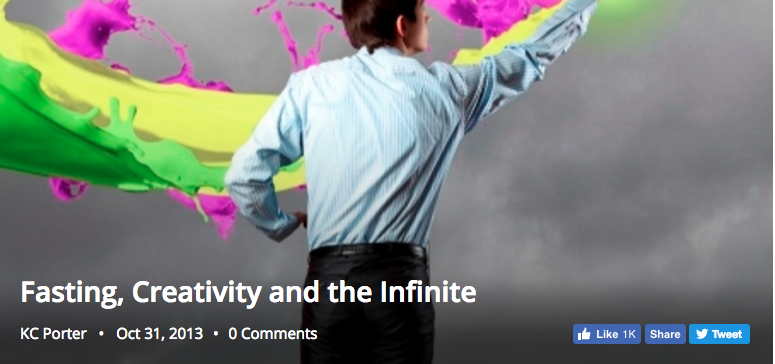 Fasting, Creativity and the Infinite