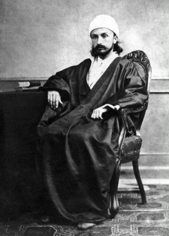 Abdu'l-Baha as a young man (Photo: Baha'i Media Bank)