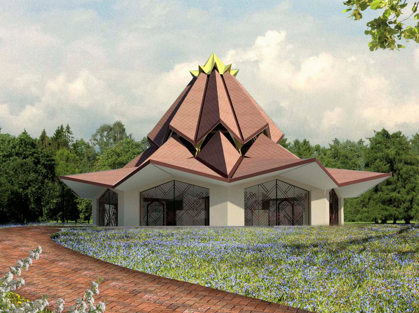Pictured above is the design of the local Baha'i House of Worship to be built in the Norte del Cauca region of Colombia. (Image: Baha'i World News Service)