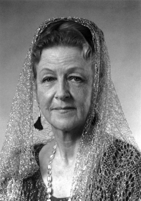 Amatu'l-Baha Ruḥiyyih Khanum, born Mary Sutherland Maxwell Aug. 8, 1910 - Jan. 19, 2000. (Photo: Baha'i World Centre)