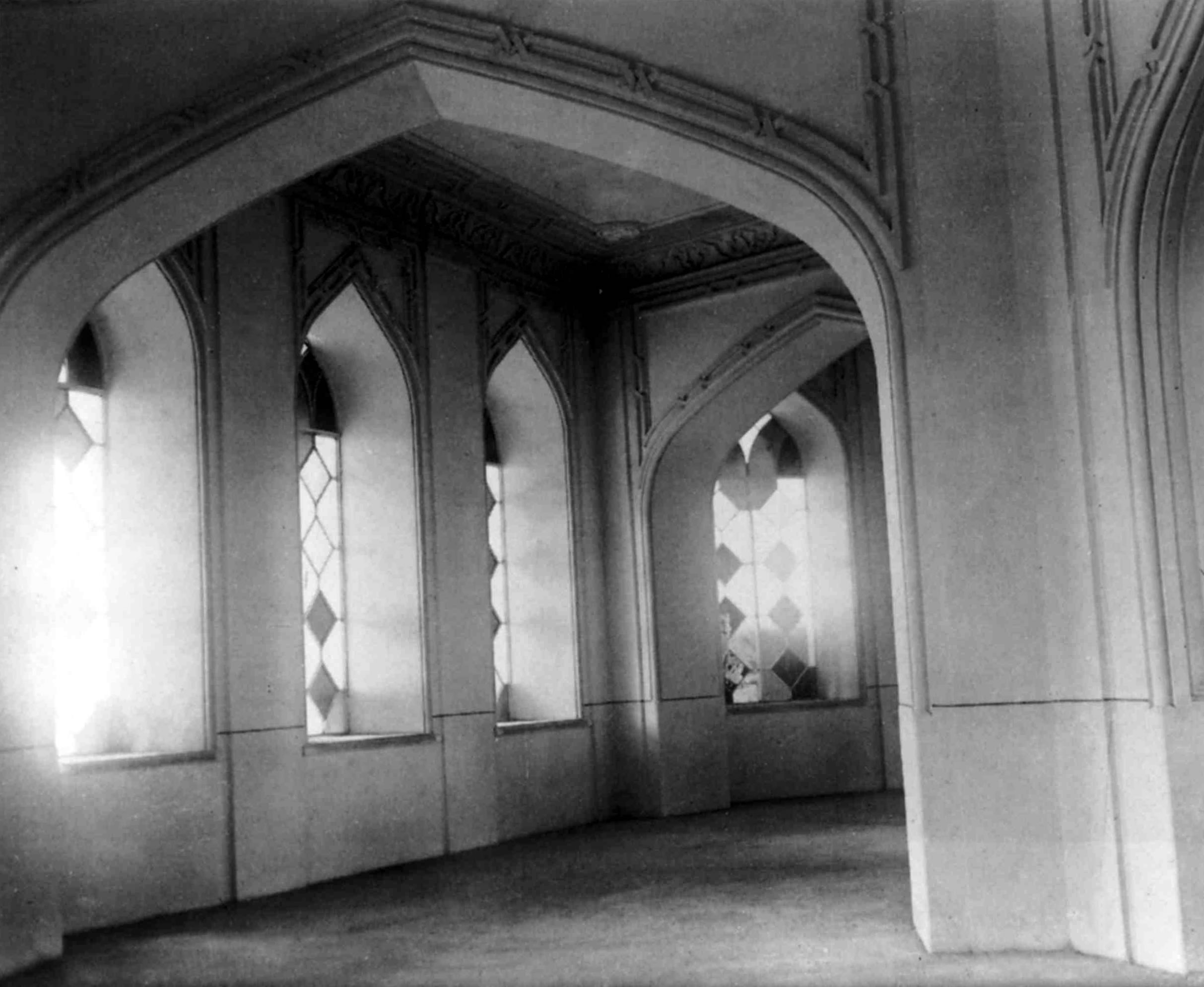 Interior of the House of Worship