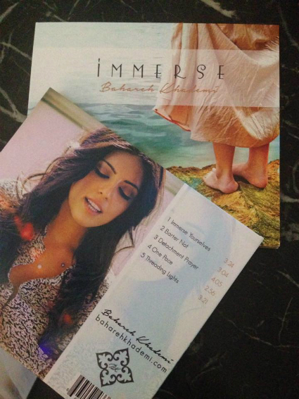 Bahareh Khademi - Immerse covers